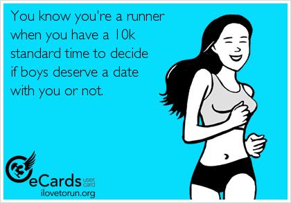 running speed dating