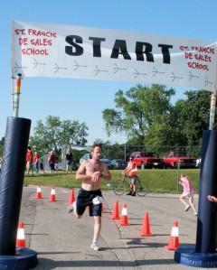 rr 5k finish