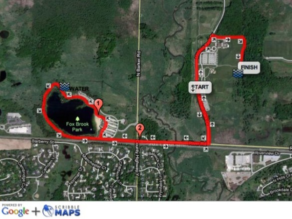 RFTH Course Map